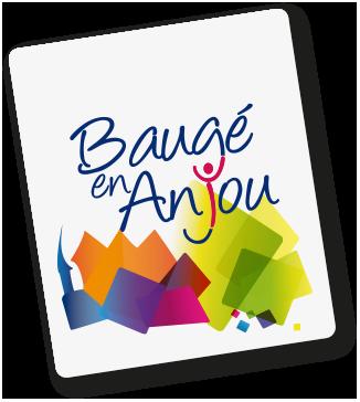 Logo de la mairie de Baugé en Anjou, un des partenaires de Positive Canitude